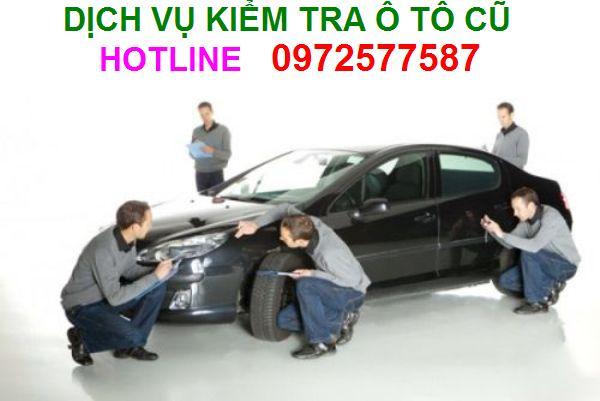 Dịch vụ check kiểm tra xe ô tô cũ