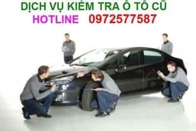 Dịch vụ test ô tô cũ đã qua sử dụng